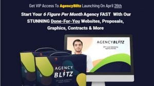 AgencyBlitz - All-in-one Digital Marketing Package with Agency Rights, White Label Solutions, Done-For-You