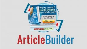 Article Builder - Automated Content with Article Spinner