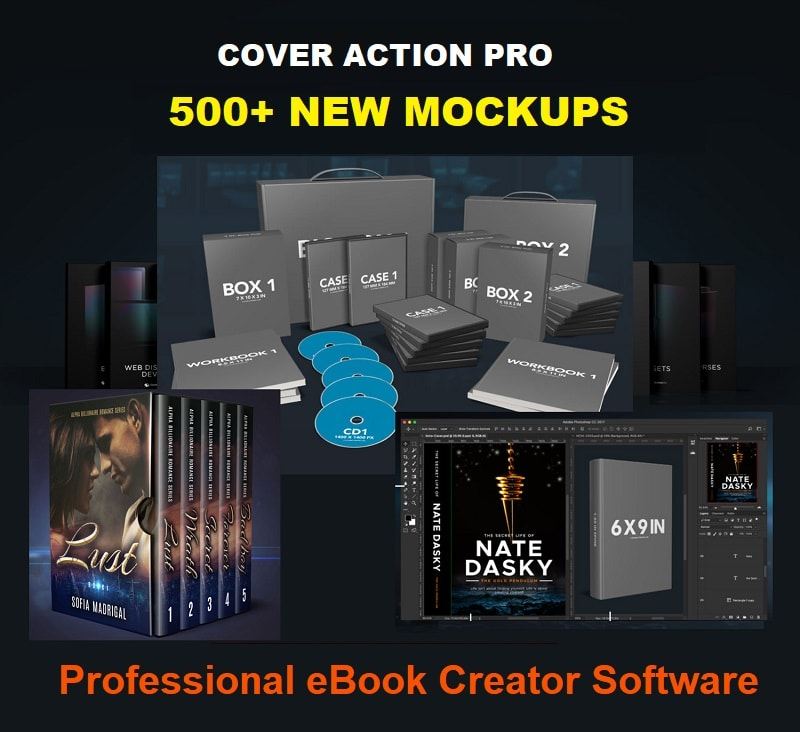 Cover Action Pro Best eBook Cover Maker Software 2020
