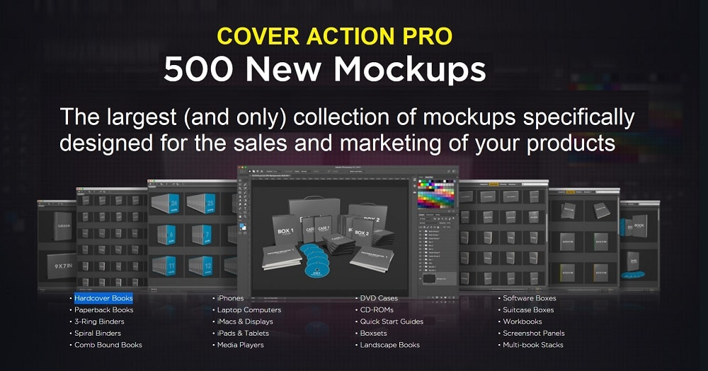 CoverActionPro - eCover Maker & Creation Software 2020