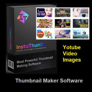 Instathumbs - Best Youtube Video Image Thumbnail Making Software 2020