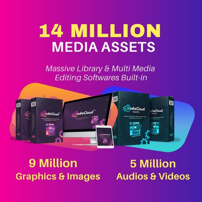 14 Million Media Assets for Blogging & Internet Marketing Tools