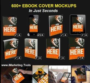 Mockupshots - Easy Realistic 3D eBook Cover Mockups Shots in Seconds