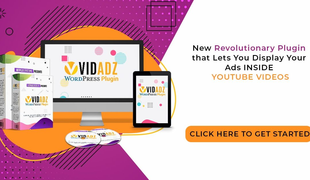 VidAdz – A Plugin Lets you Display Ads Inside Any Youtube Video Within WP Websites
