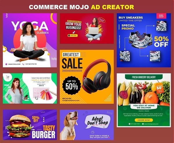 Commerce Mojo - Best Ad Design & Creation Software 2020