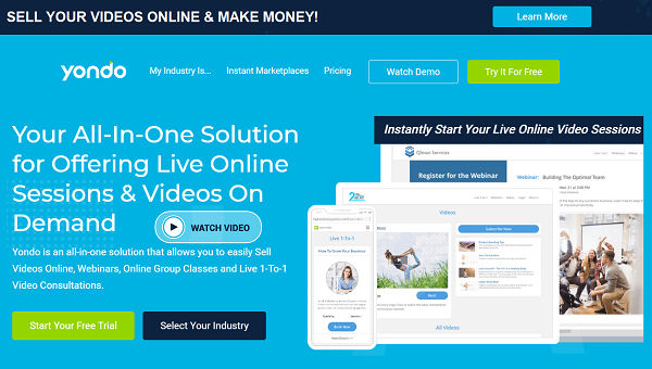Yondo - Instantly Sell your Videos Online