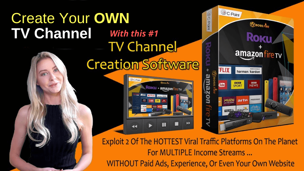 Create Your Own TV Channel with TV Channel Creation Software: T Boss Fire