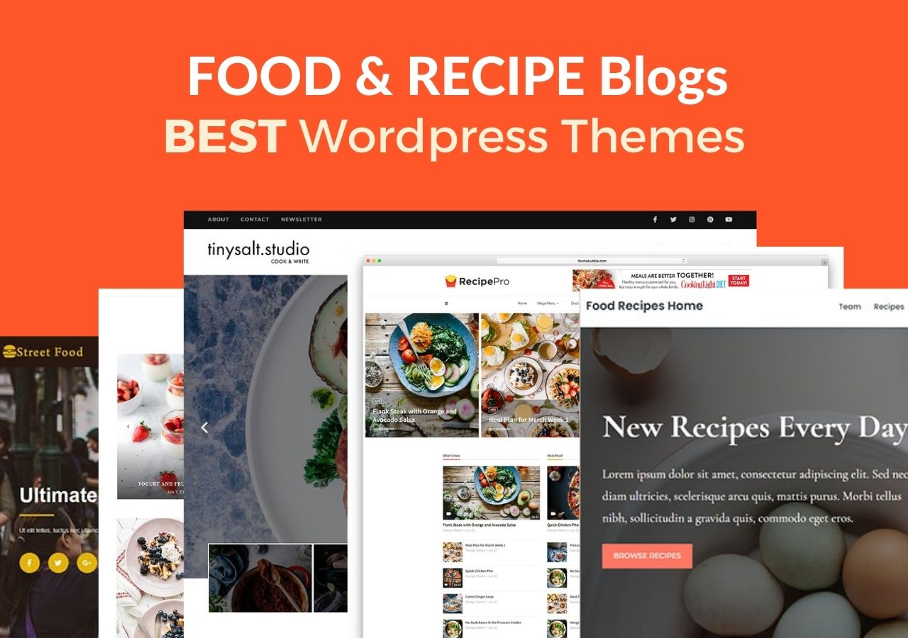 Best WordPress Themes for Recipe Websites & Food Blogs in 2021