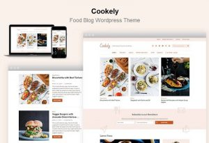 Cookely Food Recipe Blog Website WordPress Theme - Best Theme 2021