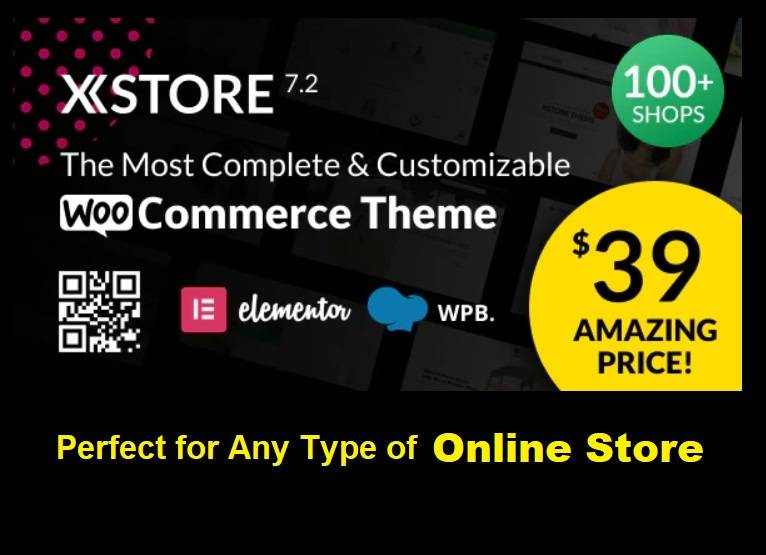 XTORE Woocommerce WordPress Theme for your Online Stores