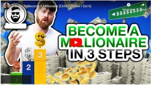 3 Steps How to Become a Millionaire from Home Online