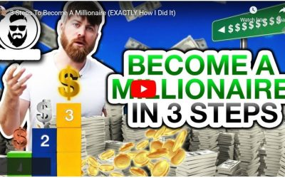 3 Steps How to Become a Millionaire. Exactly How This 7 Figure Income Earner Did It Online