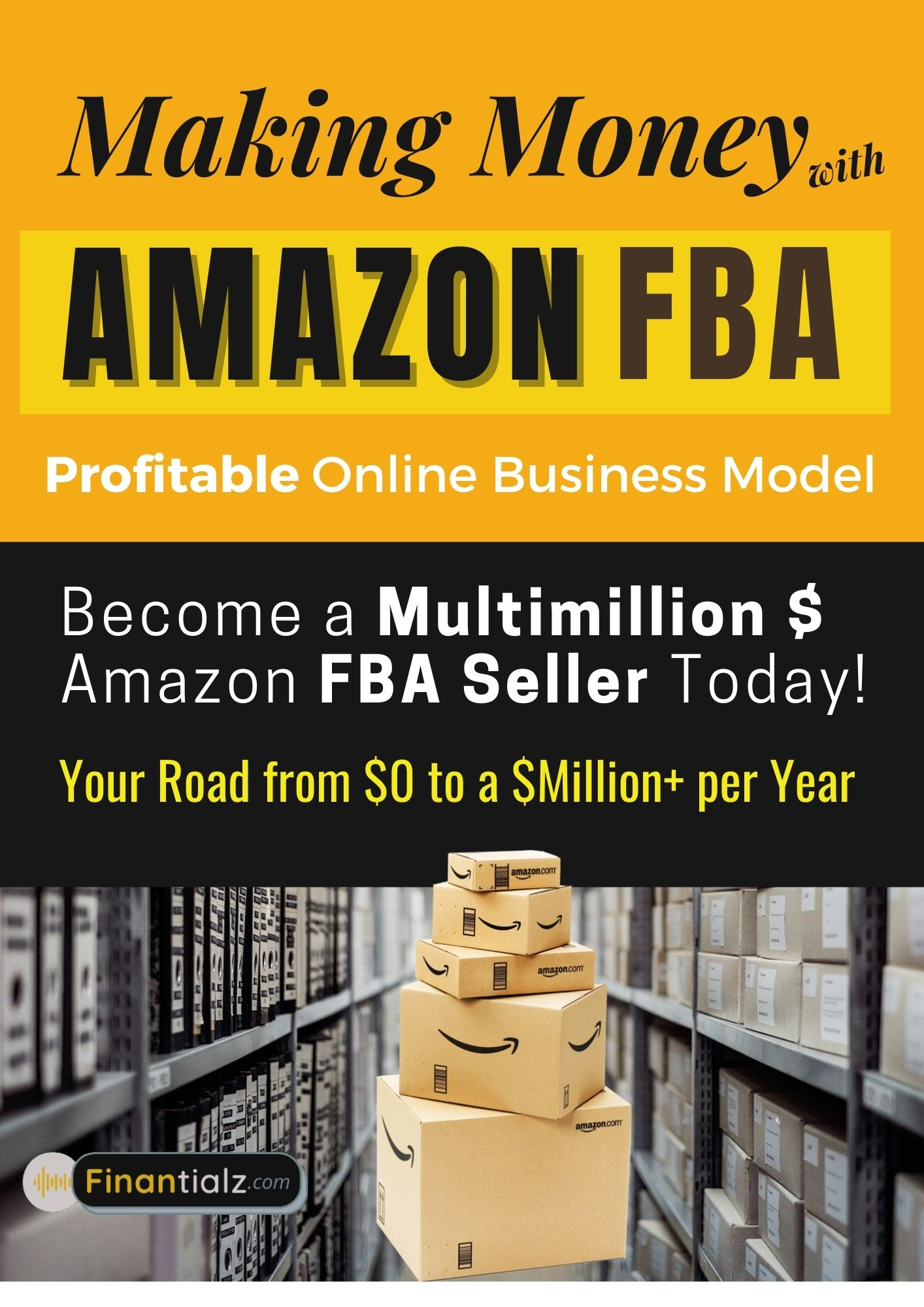 Make Money Online from home with Amazon FBA