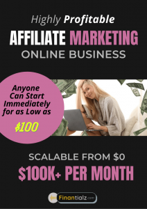 Affiliate Marketing- Profitable Low Startup cost Online Business