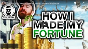 How John Crestani Made His Fortune Online. His Internet Business Model Revealed