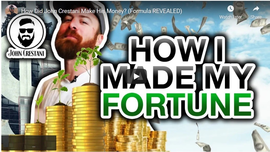 How Did John Crestani Made His Fortune Online. His Internet Business Model REVEALED