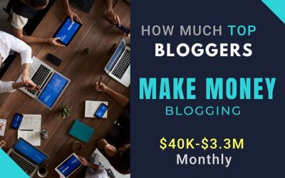 How Much Top Bloggers Do Make Money Blogging From Home. Start your Blog in 2021