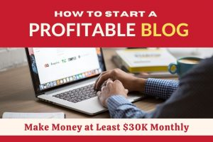 How to Start a Profitable Blog Online from Home the Easiest & Fastest Way