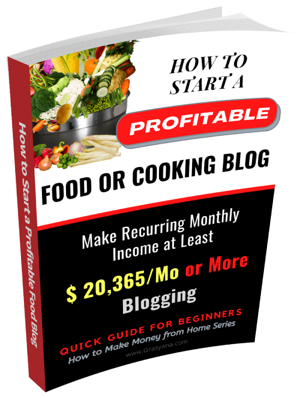 How to Start a Profitable Recipe & Cooking Blog & Make Money 6-7 Figures a year