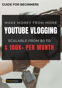 Make Money from Home Youtube Blogging